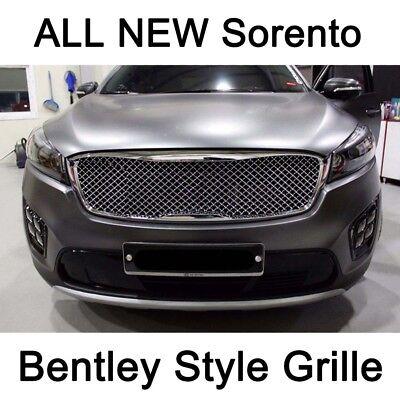 New Front Radiator Grille Bentley Style Chrome For KIA All New SorentoUM 2016