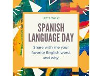 Se habla Español, Exchange your English for my Spanish