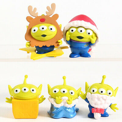 Toy Aliens Christmas Ver. Funny mini action figure toy model 5 Pcs/Set/Lot