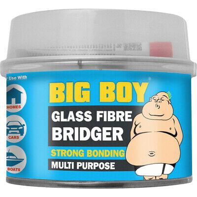 Big Boy Fibre Glass Body Filler Bridger Strong Multi Purpose Car Home Boat 250ml