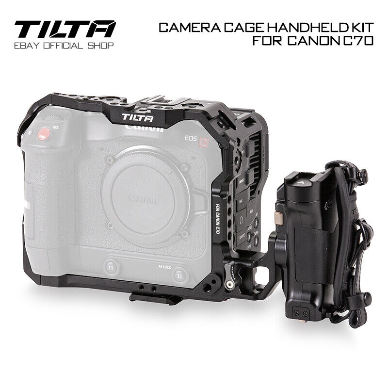 Tilta Camera Cage Rig Handle Grip Holder Stabilizers For Canon C70 Handheld Kit