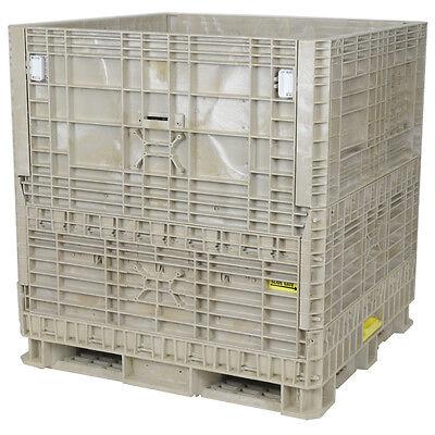 Duragreen 45 X 48 X 50 Hopper Bottom Collapsible Bulk Container