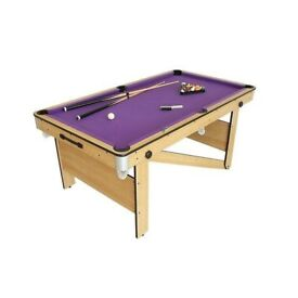 Snooker table - folds away - good as new
