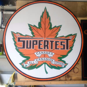 SUPERTEST 4 FOOT SIGN-reproduction
