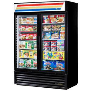 True 2-door Glass Display Freezers