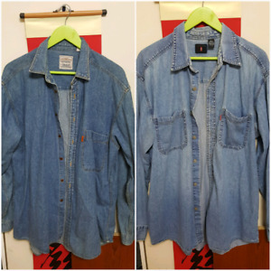 LEVIS  Denim Jean   Button Up Shirt