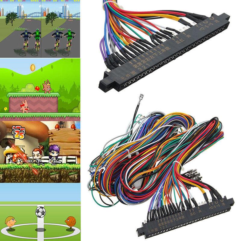 60 In 1 Jamma Wiring Harness Multicade Arcade Game Cabinet