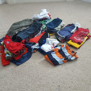 Baby Boy 12 months Clothing Lot - 50+ items
