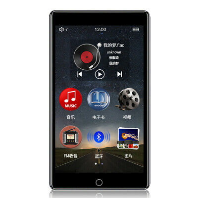 RUIZU H1 4 Inch Touch Screen Bluetooth 5.0 MP3 Player Music