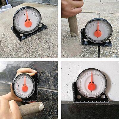 Slope Protractor Angle Finder Level Meter Clinometer Gauge With Magnetic Base