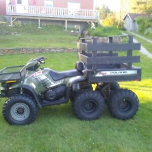 2004 Polaris Big Boss  6x6 ATV