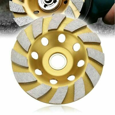 4 Inch Diamond Segment Grinding Wheel Disc Grinder Cup Concrete Stone Cut