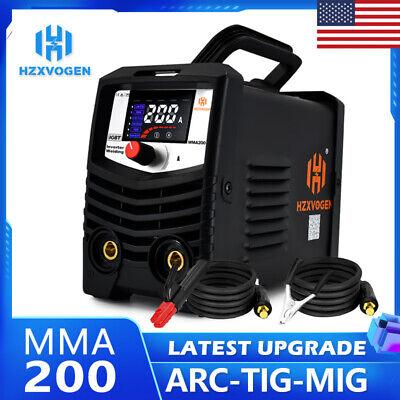 Hzxvogen Digital Mini Arc Welder Lift Tig Mma Stick Igbt Welding Machine 220v Us