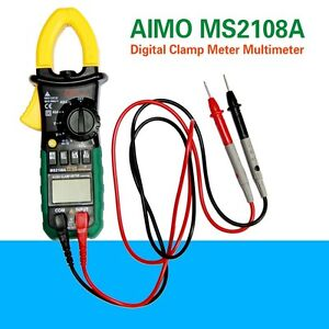 New-AIMO-MS2108A-4000-Counts-AC-DC-Current-Clamp-Meter-Brand-AU