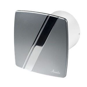 Bathroom extractor fan 100mm 4 timer humidity sensor - Estrattore bagno ...