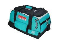 "Brand New Makita 831278-2 LXT400 4 Piece 22"" / 600mm Heavy Duty Contractor Tool Bag"