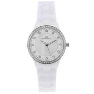 NEW Oceanaut OC6210 Womens Ceramic Swiss Quartz Watch