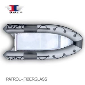 BATEAU PNEUMATIQUE INMAR 470R-PT-B (15'6'') - Fiberglass