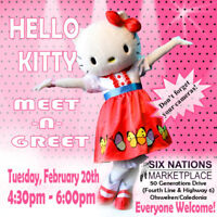 Meet & Greet - Hello Kitty
