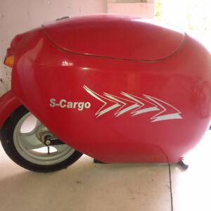 Brand new one wheel cargo motorcycle trailer
