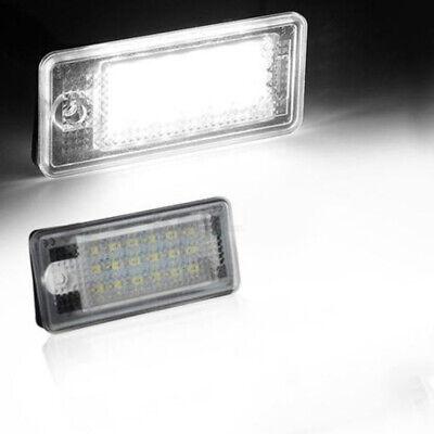 1x LED Kenn zeichen beleuchtung License Plate Light Für Audi A3 A4 A6 A8 Q7 RS6