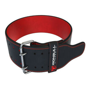 PowerLifting Belt - 10mm Double Prong - 4-inch Wide - Heavy Duty