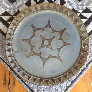 Huge Pottery Platter from one of  Elora Potteries
