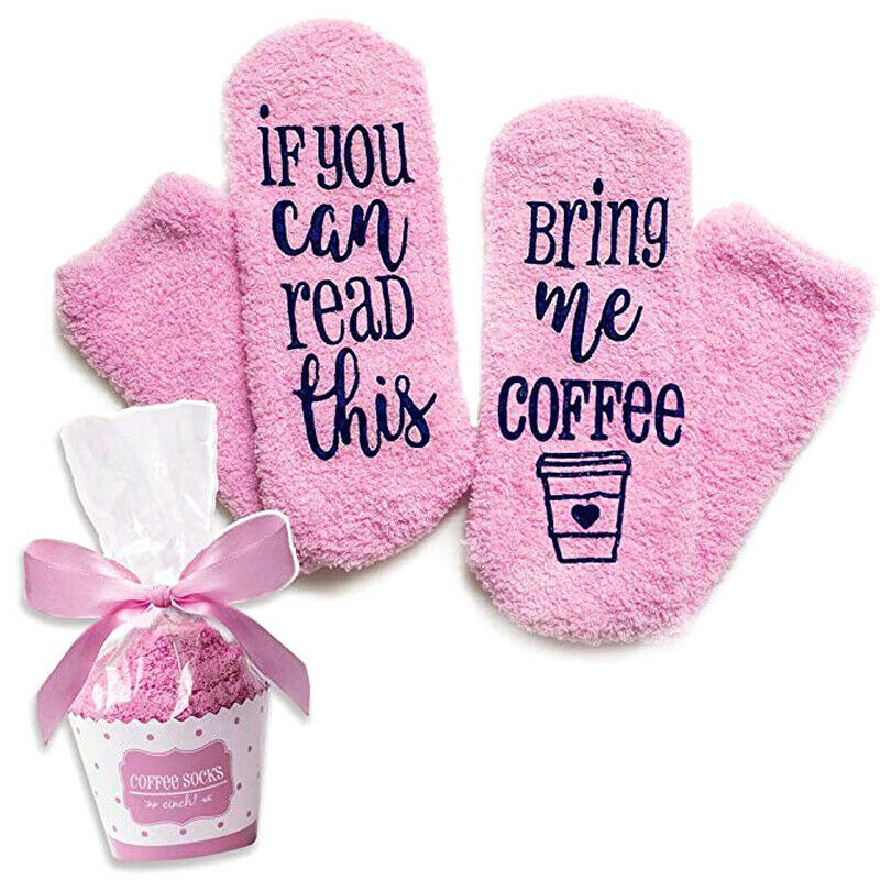 IF YOU CAN READ THIS BRING ME SOME WINE Funny Socks Women Winter Warm Soft Gift Clothing, Shoes & Accessories