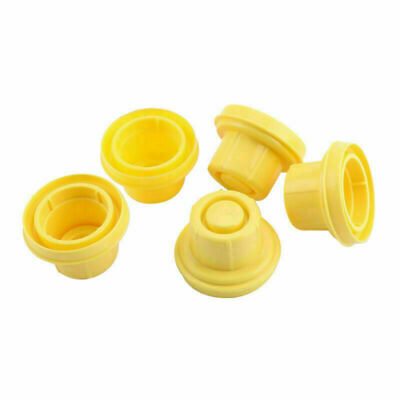 5x Replacement Yellow Spout Cap Top For Blitz Fuel Gas Can 900302 900092 Us