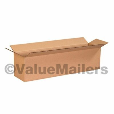 20x4x4 Shipping Packing Mailing Moving Boxes Corrugated Cartons 25 50 100 200