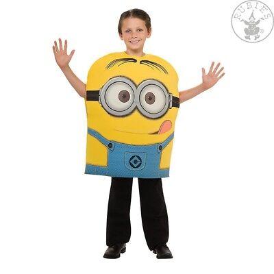 RUB 3886444 Minion Dave Kinderkostüm Jungen Kostüm Minions Karneval Fasching ()