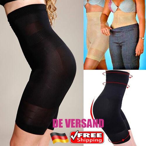 DE Damen Bodyshaper Hohe Taille Miederhose Bauchweg Slim Pants Shapewear Hose