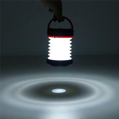 Solar Camping LED Light Lantern Outdoor Rechargeable Lampara Hanging Folding segunda mano  Embacar hacia Argentina