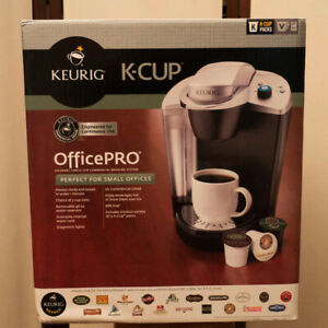 KEURIG OfficePro Coffee Maker & 12 K-Cups. New In Box! Low Price