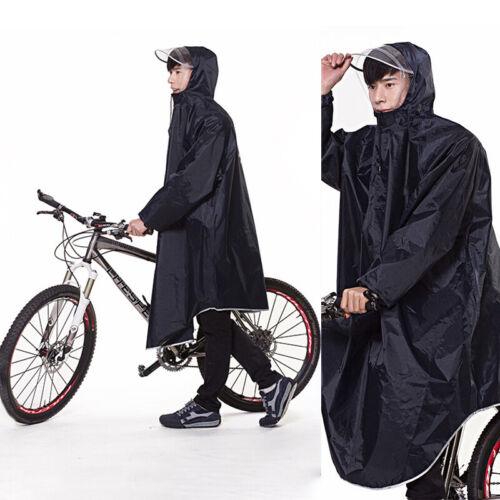 Unisex Waterproof Poncho Hooded RainCoat Army Rain Jacket Co