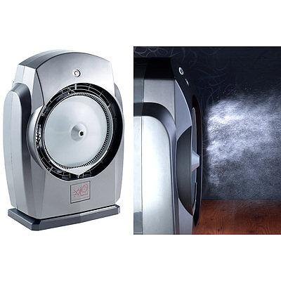 Sichler Haushaltsgeräte Indoor- & Outdoor-Ventilator VT-538.IO, mit Sprühnebler