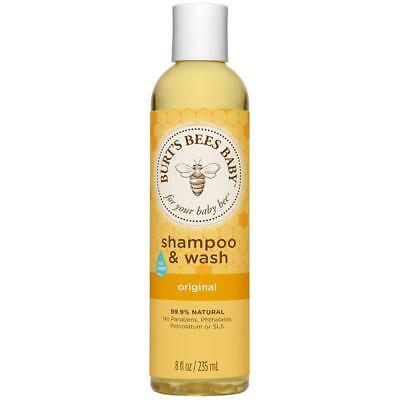Burt's Bees Baby Shampoo & Wash Bath time made easy. Natural