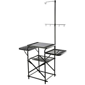 Portable Folding Outdoor Camp Kitchen for Grill BBQ Food Prep