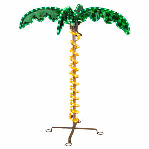 Holographic Palm Tree Rope Light Decor