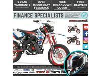Rieju MRT Trophy 50 SM 50cc Supermoto 2 Stroke Motorbike Finance Delivery