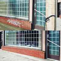 Graffiti removal and power washing services