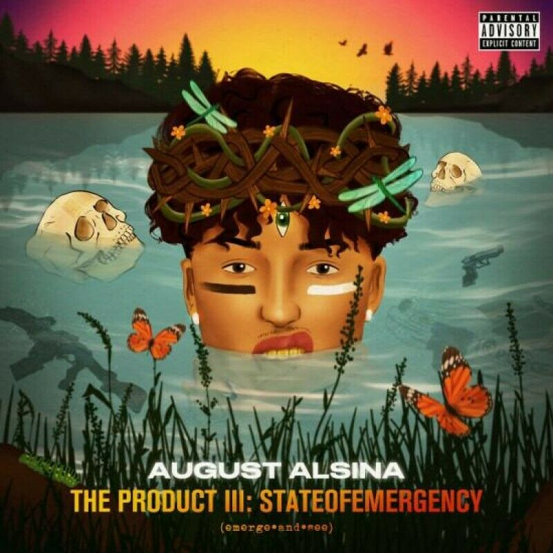 August Alsina | The Product III (stateofEMERGEncy) (CD Mixtape)