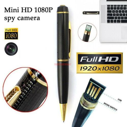 Mini Camera Pocket Pen Hidden USB DVR Camcorder Video Recorder HD 1080P Portable