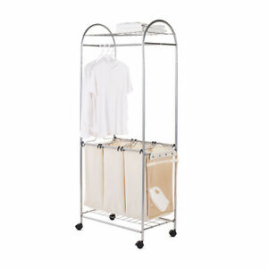 Laundry Sorter and hanging bar
