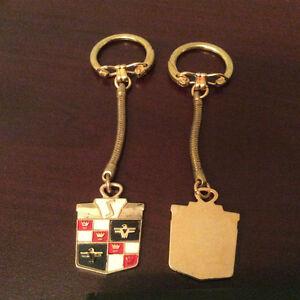 Old Vintage Studebaker key blank/chain