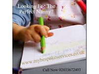 Looking for the perfect nanny? Don't worry we do all the leg work! Call Now 02033672403