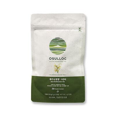 [OSULLOC] Jeju Orchid Green Tea(20 Teabags)_Tea with Pure Jeju Orchid Flavor