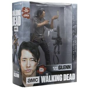 "The Walking Dead TV Glenn 10"" Deluxe Action Figure at JJ Sports!"