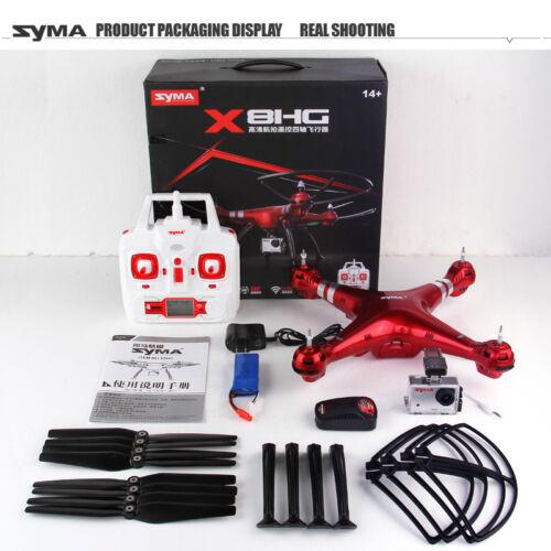 SYMA X8HG 4CH RC QUADCOPTER 8MP HD CAMERA DRONE 2MP Video ALTITUDE HOLD HEADLESS