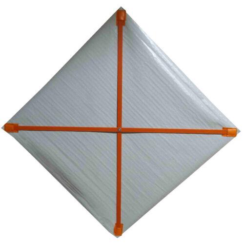 "Fiberglass Ribs for 48"" x 48"" Mesh Roll-Up Signs, FB-6412"